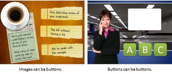 Voorbeelden van buttons
