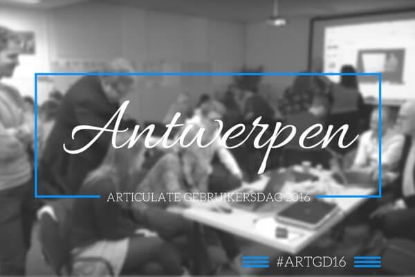 Articulate Gebruikersdag Antwerpen
