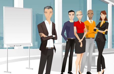 Meertalige e-learning over leidinggeven, persoonlijke ontwikkeling en communiceren