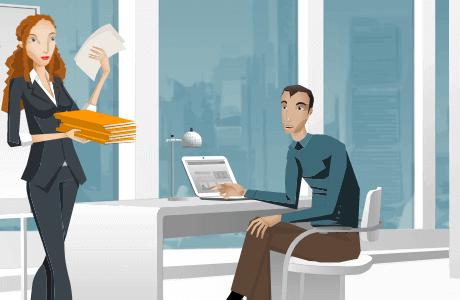 Een e-learning over het belang van een planner gebruiken