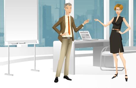 Leer alles over goede communicatie tijdens deze interactieve e-learning.