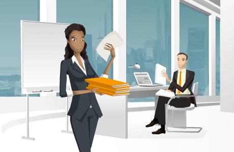 Leer hoe jij kan omgaan met stress in je dagelijks leven en op je werk tijdens een interactieve e-learning.