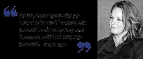Quote Emilie Scholtens het CAK