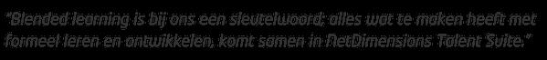 formeel leren en ontwikkelen in NetDimensions Talent Suite