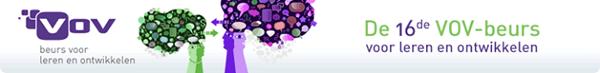 VOV beurs voor leren en ontwikkelingen logo