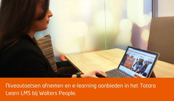 Een learning management systeem voor een werving en selectie bureau