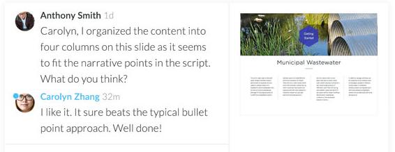 Articulate Review 360 voorbeelddialoog