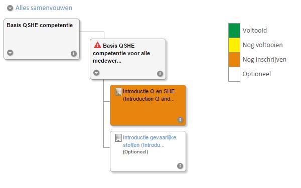 Grafisch leerpad in NetDimensions LMS bij ECN