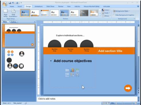 Voorbeeld screencast hoe de demo gemaakt is