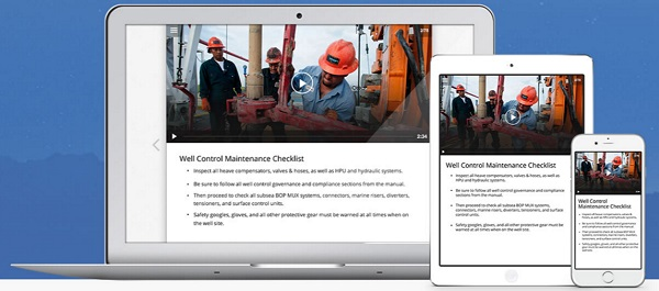 Screenshot van Xyleme Author om e-learning content voor meerdere devices te ontwerpen
